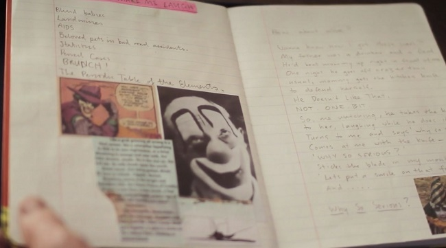 Heath Ledger kept a diary