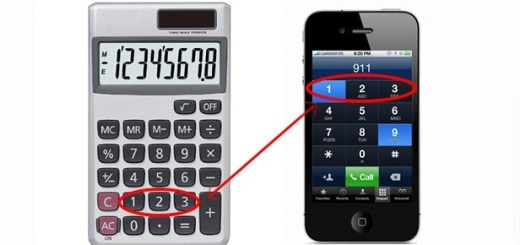 Why numbers are put in a certain sequence on telephones and calculators