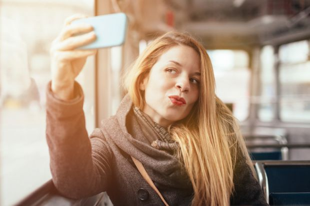 medical condition arises by taking too many selfies