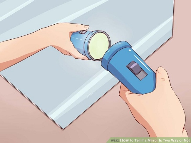 How to check for two way mirrors1