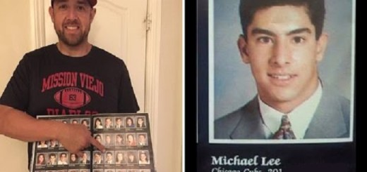 A Man's 1993 yearbook photo predicts Chicago Cubs win the World Series 2016