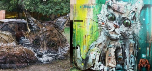 Artist Shapes Trash Into Animals To Alarm Us About The Pollution