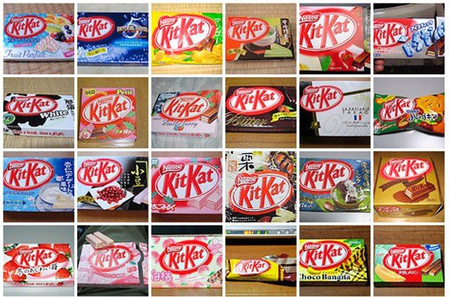 Japanese love Kit Kat