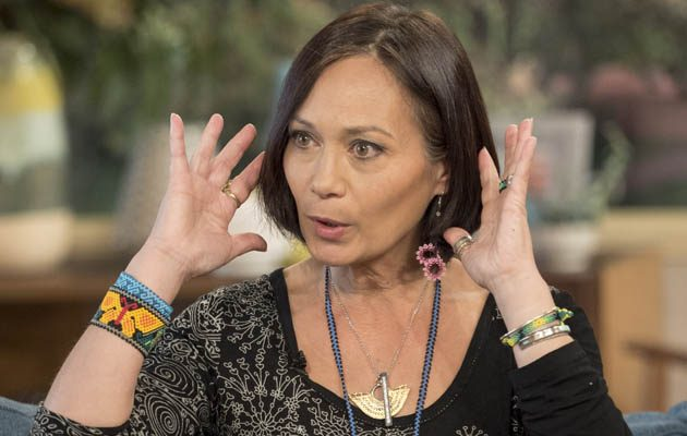Leah Bracknell discussing about cancer