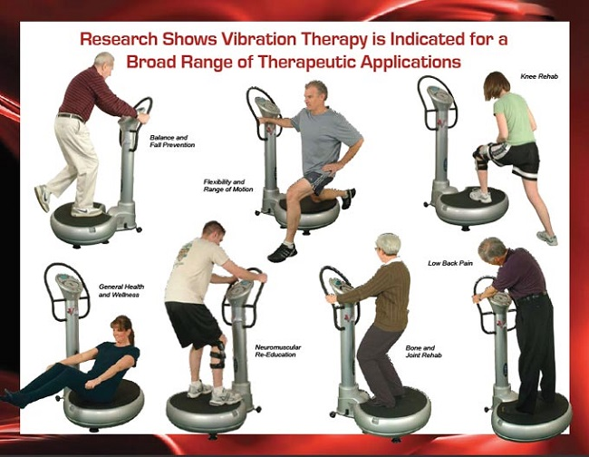 Whole body vibration therapy