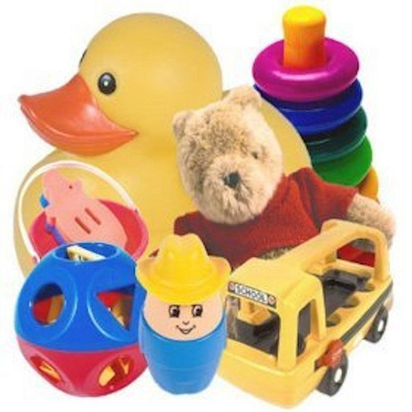 Disinfect your child's toys