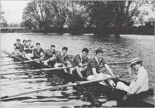 Hawking joined the Oxford Rowing Team