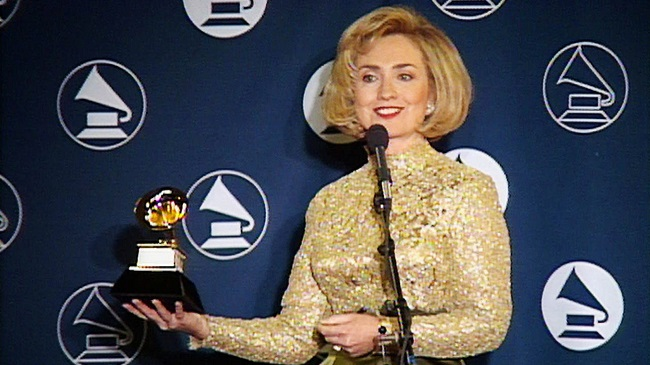 Hillary Clinton won a Grammy in 1997
