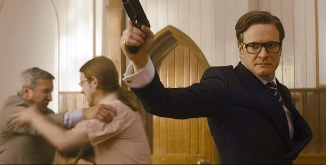 Colin Firth did his own stunts