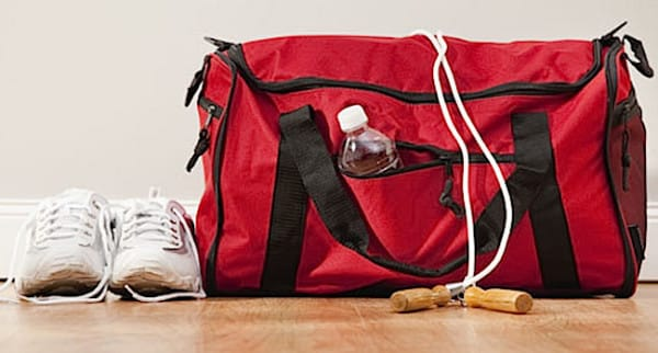 Deodorize your gym bags