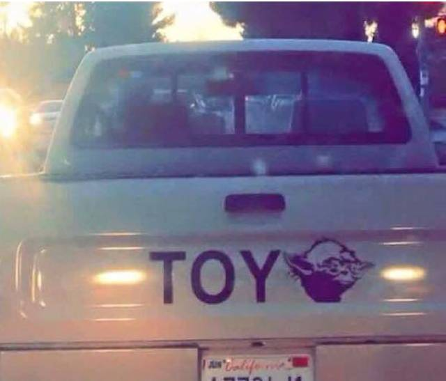 May the force be with the Toyota