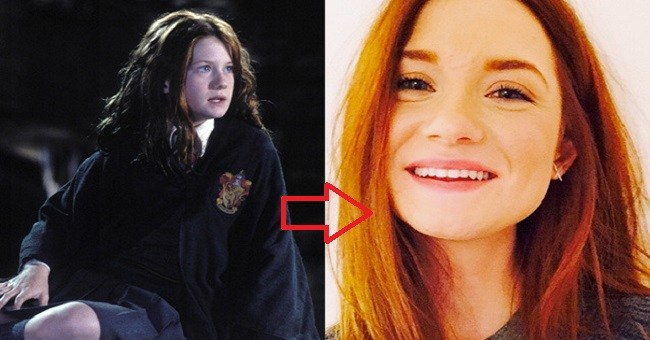 See how much the cast of Harry Potter series have changed over time