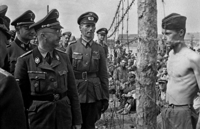 Defiance in the presence of Himmler