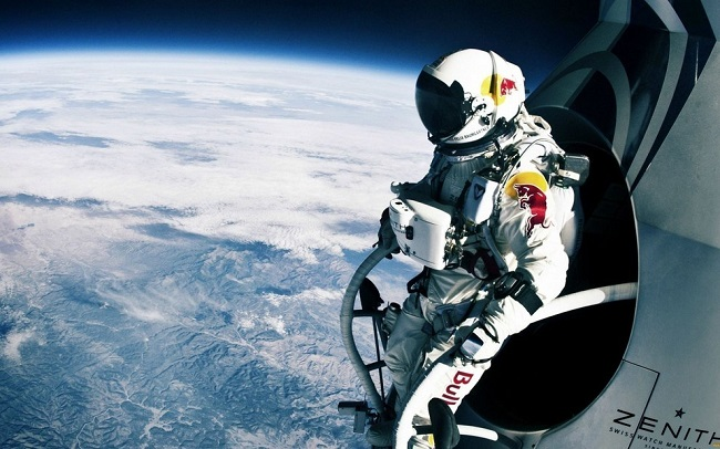 First man to jump from stratosphere