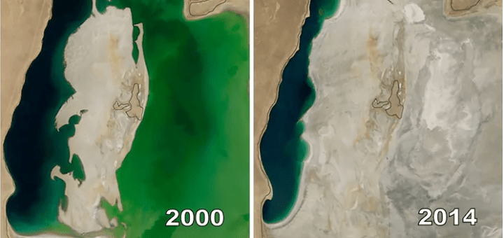 4 Creepy and mindboggling then and now images released by NASA