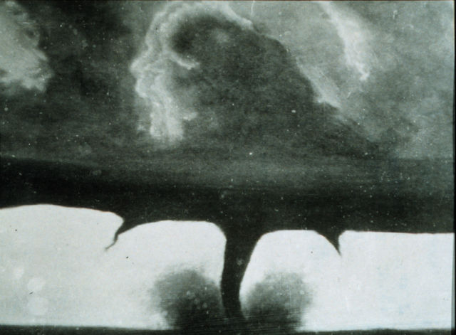 Oldest Photograph of a Tornado
