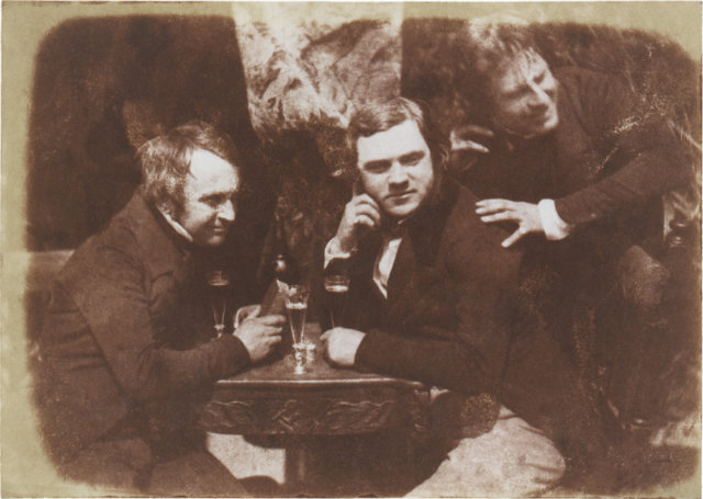 Oldest drinks party photograph