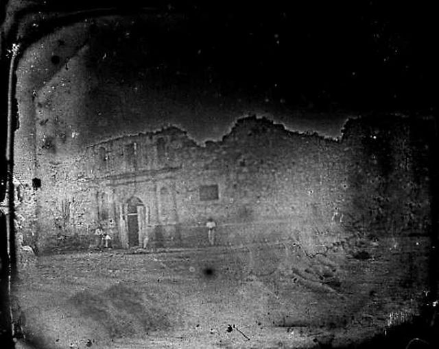 The Oldest Photograph of Alamo