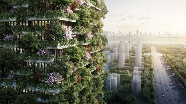 Vertical forests in China