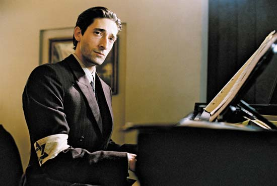 "Adrien Brody – ""The Pianist"""