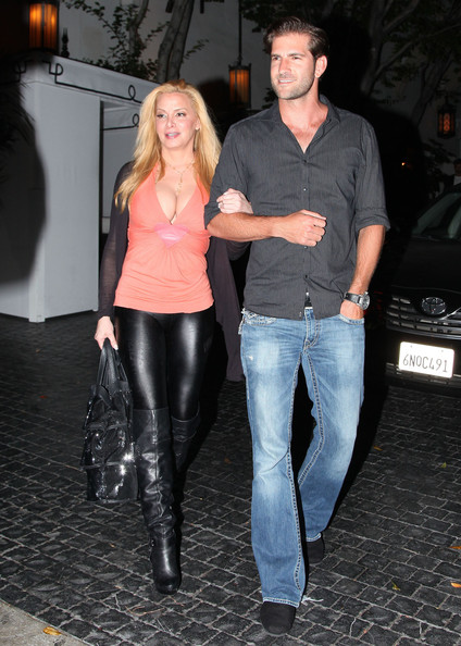 Cindy Margolis with husband