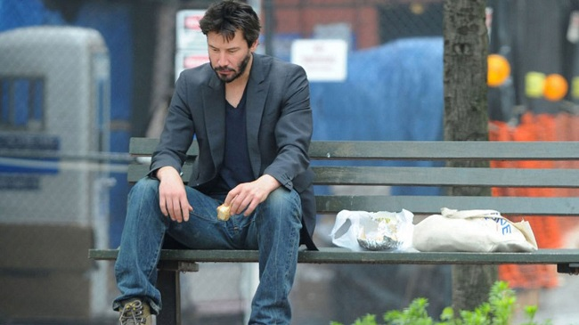Keanu Reeves lost a best friend