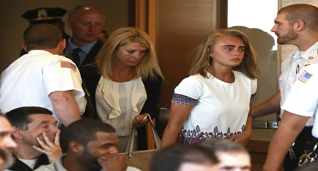 Michelle Carter in Court