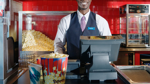 Popcorn and snacks are wildly overpriced