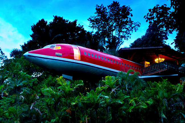 The airplane luxury hotel