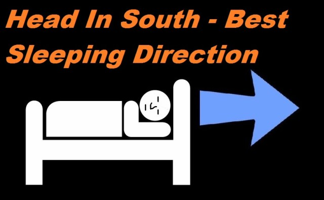 Which direction should you sleep in