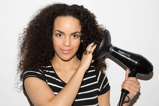 diffuser for curly hair