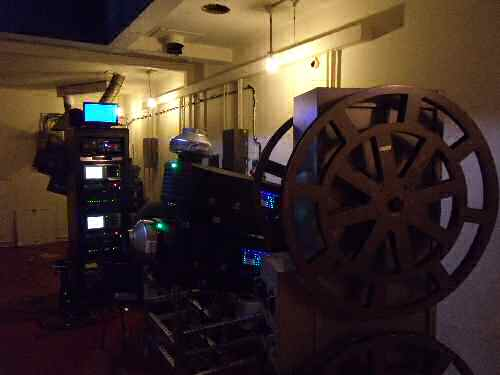 projectionist's job