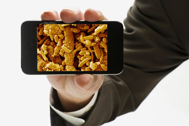 smartphone causes infection