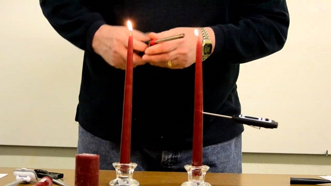 Longer lasting candles