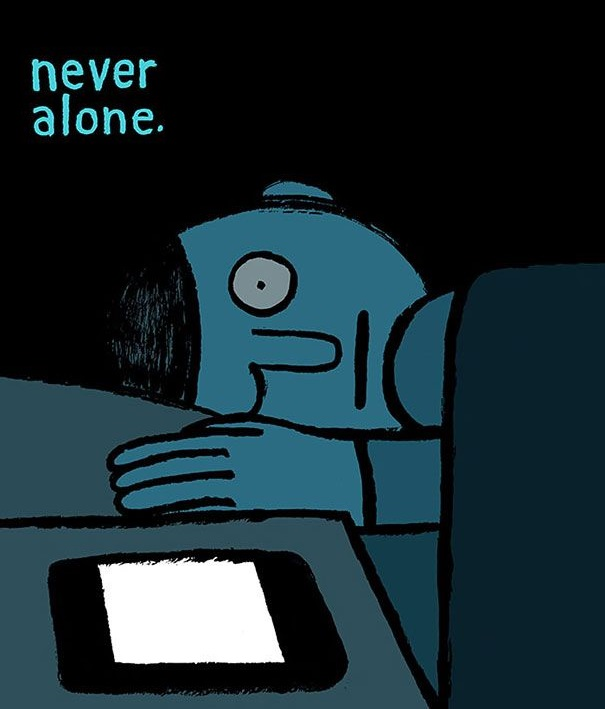 Never Alone jean julien simple artwork