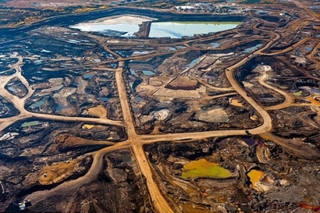 Results of oil mining