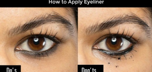 Tips on How to Apply Eyeliner according to eye size to make them appear More Beautiful