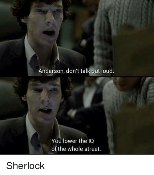 sherlok dialogue
