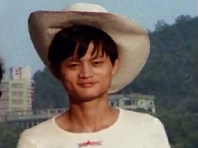 Jack Ma in young age