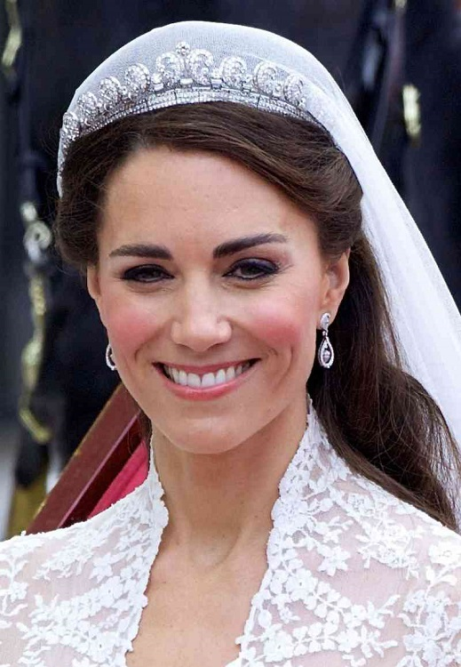 Wearing tiara means that the girl is not looking to find a husband
