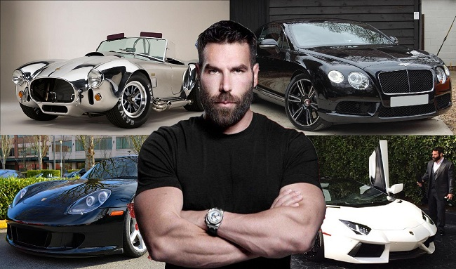 Dan Bilzerian car collection