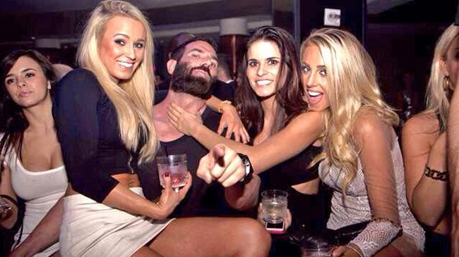 Dan Bilzerian partying with girls