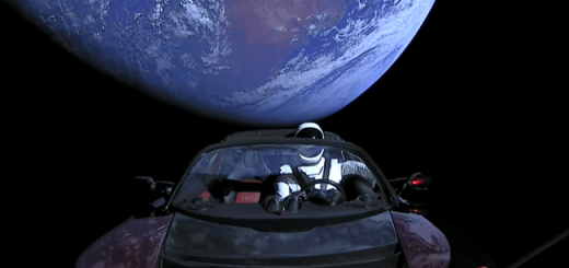 Elon Musk Successfully Launches Worlds Heaviest Rocket Carrying Into Space His Red Tesla Car