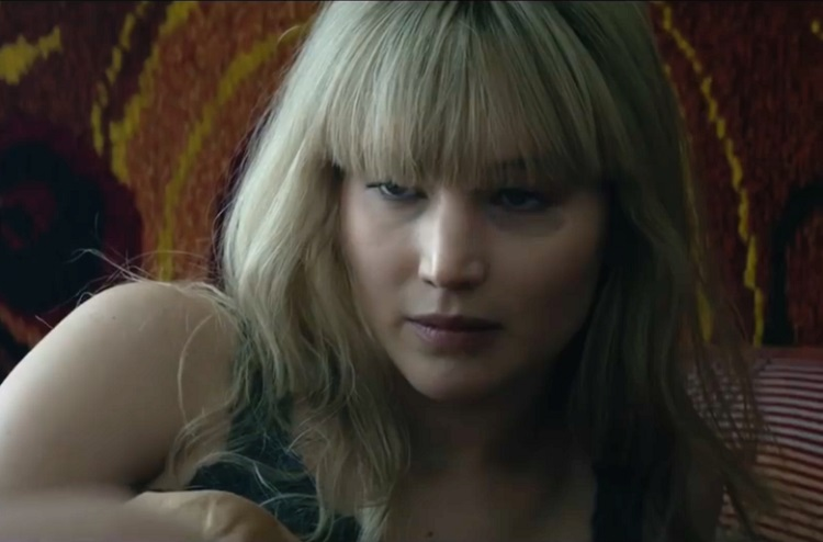 Jennifer in red sparrow