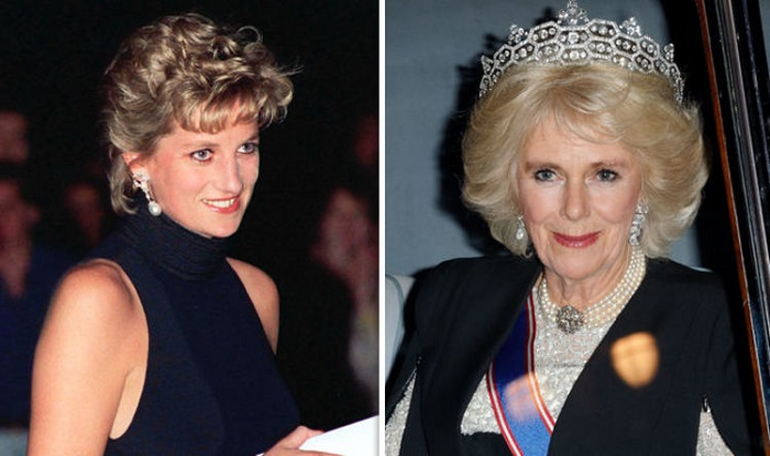Diana and Camilla parker