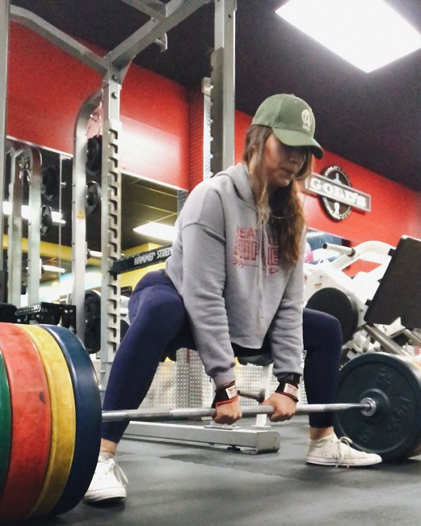 laura-micetich in the gym