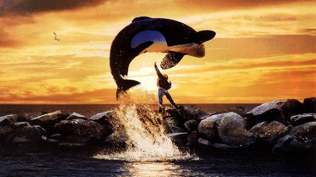 A Very Powerful Whale jumps to Heaven