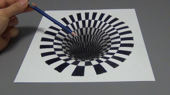What is optical illusion