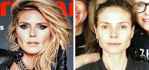 How 20 Glamorous Stars Look On Magazine Covers And In Real Life