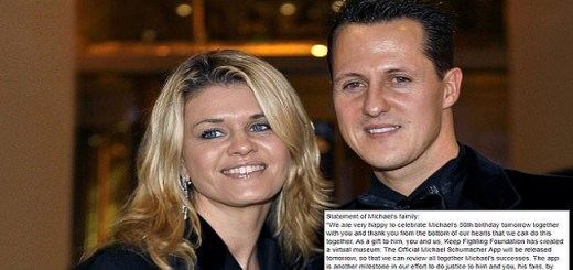 Michael Schumacher's Family Issues Statement